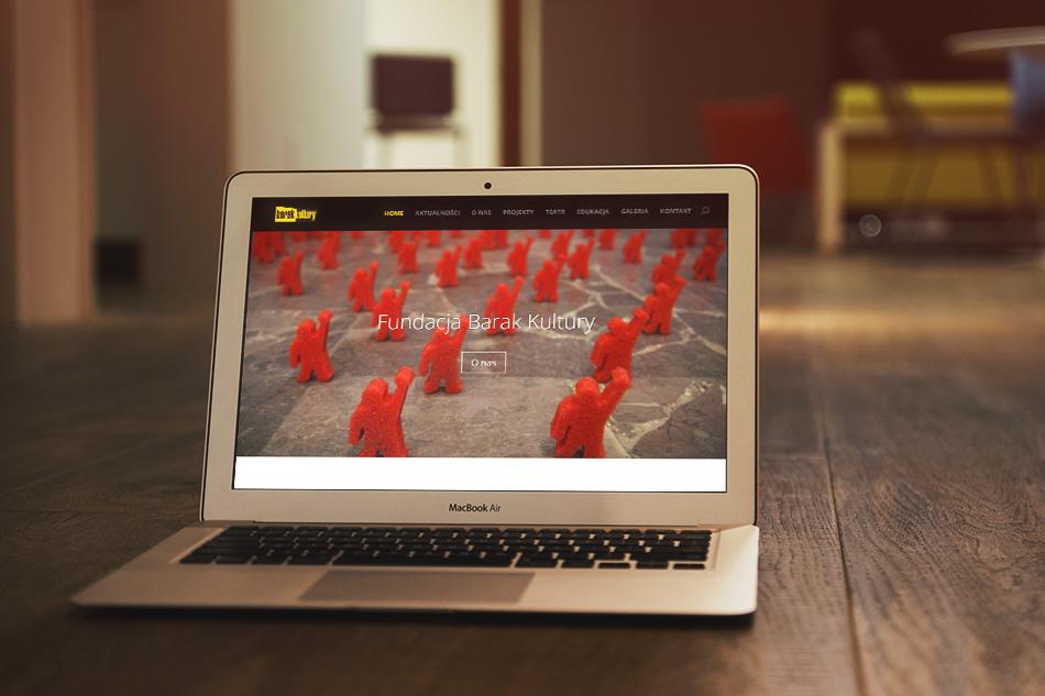 Strona internetowa Barak Kultury